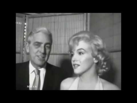 "Marilyn Monroe Rare Radio Interview 1960 - Footage of ""Let's Make Love"" Press Party 1960"