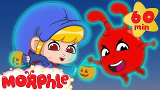 Halloween! Morphle and Mila turned into Ghosts! Scary but Cute Halloween Videos For Kids thumbnail