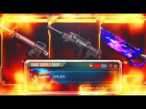 11 NEW DLC WEAPONS OPENING! - BLACK OPS 3 50% OFF RARE SUPPLY DROP SALE! (BO3 NEW DLC Weapons)
