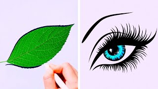 27 COOL AND SIMPLE DRAWING TRICKS
