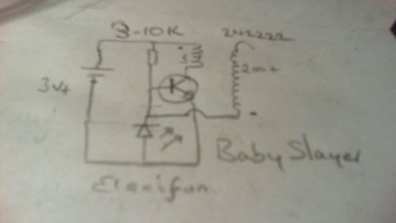 Simple Tachometer Circuit Diagram With Single Transistor