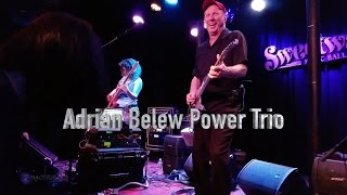Adrian Belew Power Trio at Sweetwater 3-22-17