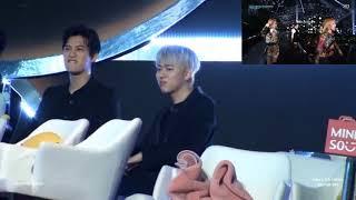 Jonghyun & Zico reaction( 반응)to BLACKPINK _ SBS Gayo Daejun(SBS 가요대전)