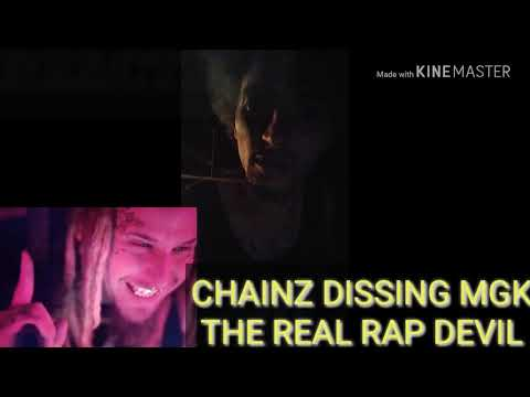 CHAINZ DISSING MGK ( THE REAL RAP DEVIL) REACTION