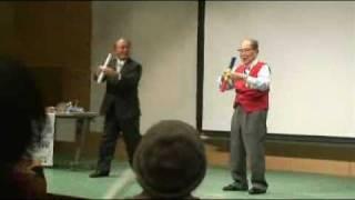 104歳・昇地三郎の「やる気棒体操」