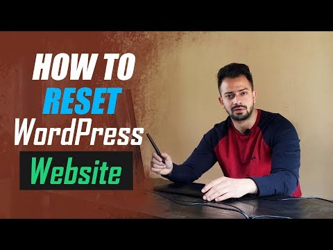 How to Reset WordPress website - no need for uninstall - 동영상