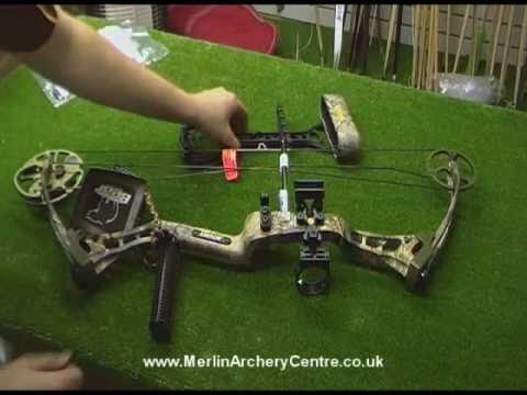 Part 1 of 2 - Bear Charge Compound Bow Review by Merlin Archery