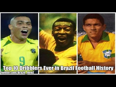 Top 10 Dribblers Ever in Brazil Football History
