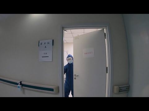 A look inside Wuhan quarantine ward for seriously ill