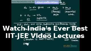 iit jee chemistry video lectures, Theory  Light Metals Alkali, Alkaline Metals