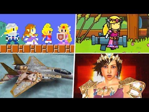 Evolution of Princess Zelda Easter Eggs & References (1993 - 2019)