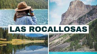 Visitando las Montañas Rocallosas Canadienses | El lugar más hermoso de Canadá