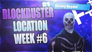 Week 6 FREE Battle Star LOCATION! *FREE* Battle Pass Tier (Fortnite Blockbuster Challenge Week 6) HD
