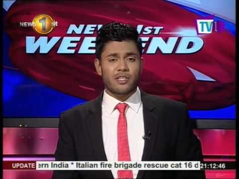News1st Prime Time News English TV1 9pm 10th September 2016