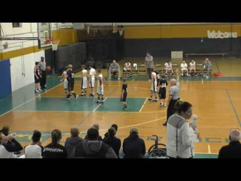 Spencer Middle School Boy's Basketball vs  Wirt County MIddle School B Team 12-12-16