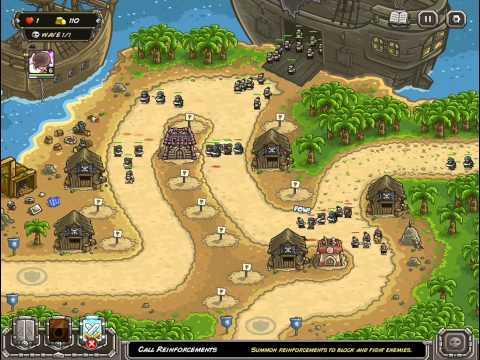 Buccaneer's Den - Kingdom Rush Frontiers - Iron Challenge Veteran - KRF5  