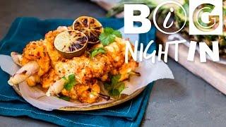 Thai Monkfish Skewers & Pineapple Rice Recipe | Big Night In