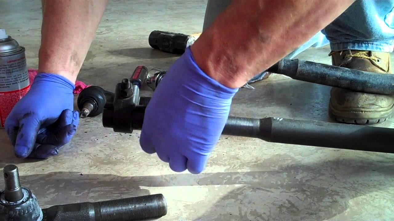 medium resolution of ram 2500 tie rod end and steering linkage