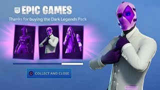Fortnite: CLAIM for FREE the new DARK LEGENDS PACK! How TO GET Darkness Rising Pack FOR FREE!