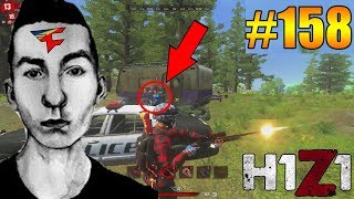 ERYCTRICEPS SNIPER NOSCOPE OUT OF A CAR! H1Z1 - Oddshots & Funny Moments #158