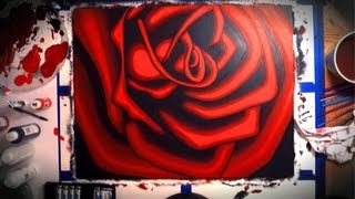Red Rose Paintings (2006) - Glen Shackley