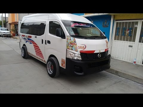 Nissan Nv350 Urvan Tuning Eskandaloso S Ruta 55 Ecatepec