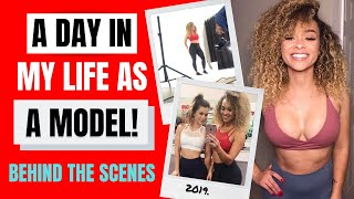 Day in the Life of a Model   Til You Collapse Photoshoot BTS
