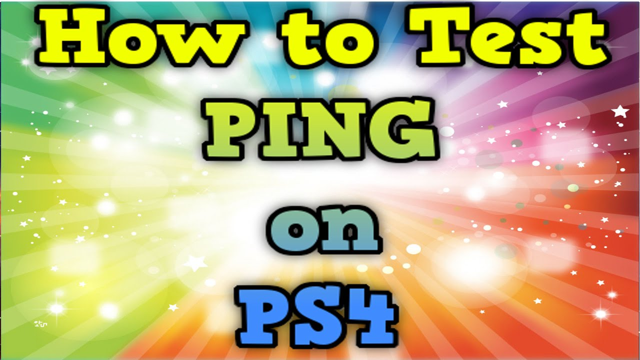 How to test pings