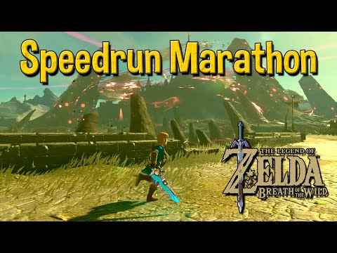 Speedrun Marathon - Breath of The Wild Any% Speedrun