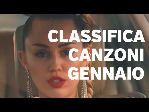 CLASSIFICA CANZONI GENNAIO 2019
