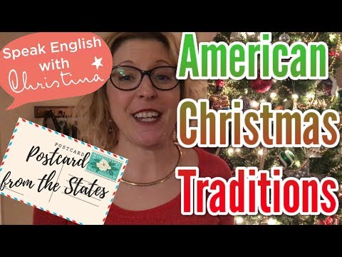 American Christmas Traditions: Postcard From The USA
