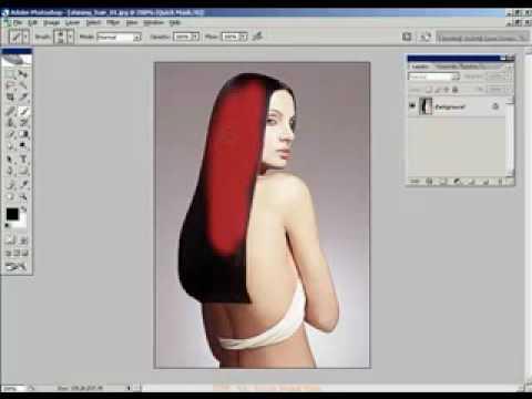 Xu ly anh nang cao 1 HocPhotoshop.Com Xu ly mai toc dep photoshop