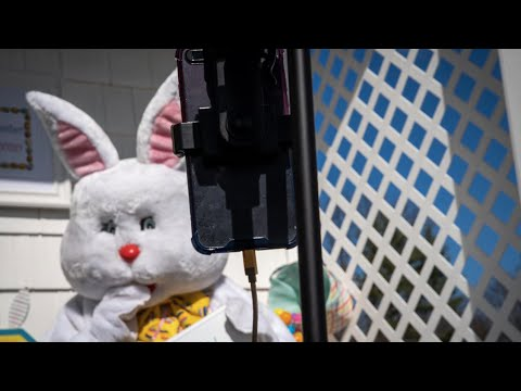 The Easter Bunny Goes Virtual Due To Coronavirus