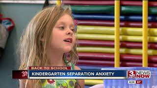 Back to School: Kindergarten separation anxiety
