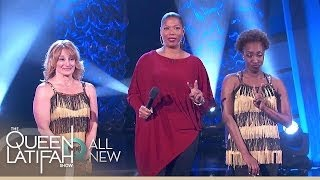 Madeleine Stowe, Holly Robinson Peete, and Ultimate Mom Dance Off Winner!