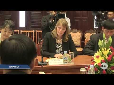 Interview Ms. Ronan Smith Over Cambodian Human Right