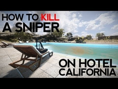 Battlefield 3 - How to Kill a Sniper On Hotel California by birgirpall