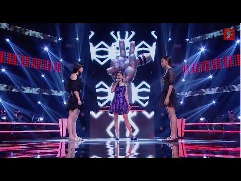 The Voice Kids Thailand - Battle Round - พอยท์ VS เบนซ์ VS ริซ่า - Don't Speak - 8 Mar 2015