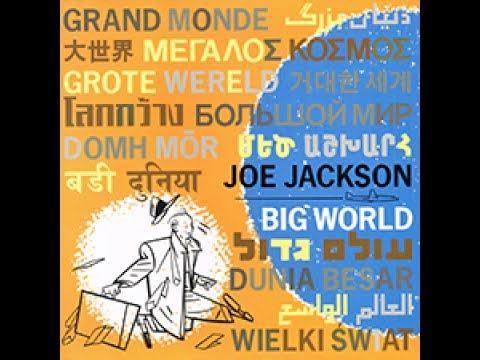 (It's A) Big World | Joe Jackson 1986 Big World | A&M LP