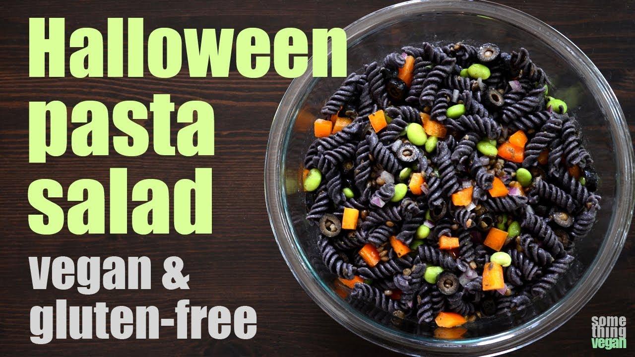 halloween pasta salad vegan gluten free something vegan
