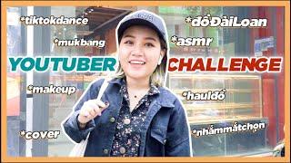 Youtuber Challenge: Nhiều video trong 1 video như #My20schannel | Châu Giang nè!