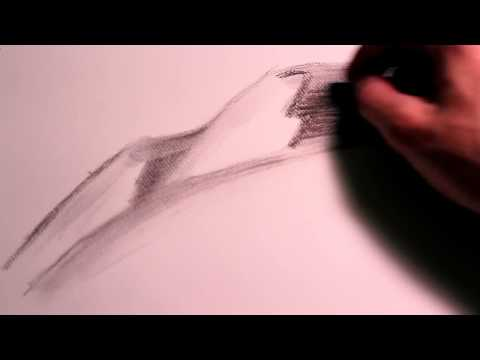 How to Draw Sand With Charcoal