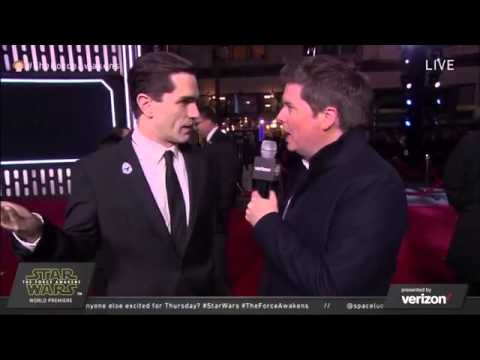 The Force Awakens Red Carpet Witwer