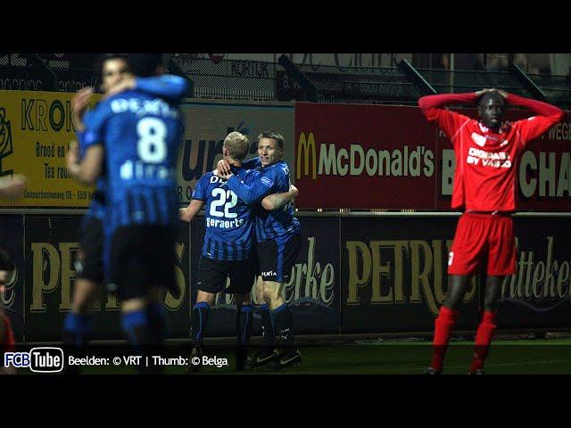 2008-2009 - Jupiler Pro League - 27. KV Kortrijk - Club Brugge 2-3