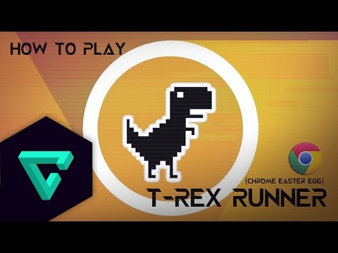 วิธีเล่น T-REX Runner (Chrome Easter Egg)