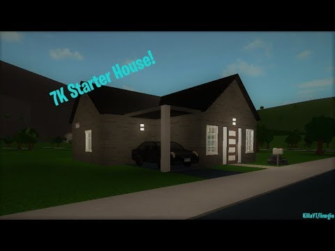 How to build a 7K Starter House | Welcome to Bloxburg | ROBLOX