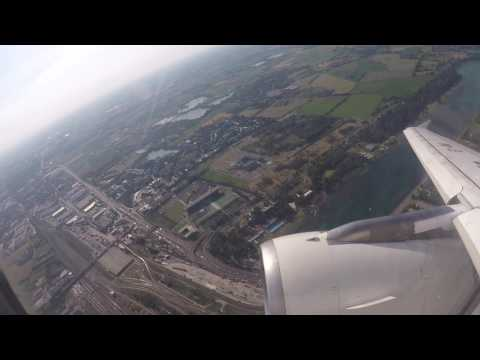 LIN - FCO - Alitalia Airbus A320 - Full Flight - Full HD