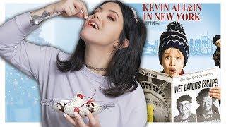 Wie schmeckt der Eisbecher aus Kevin allein in NewYork?