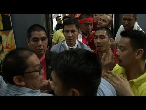 Heated exchange between TNT and Ginebra | PBA Governor's Cup 2017