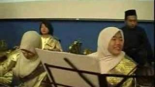 Moments before the show-Gamelan Kencana Warisan INSPEN